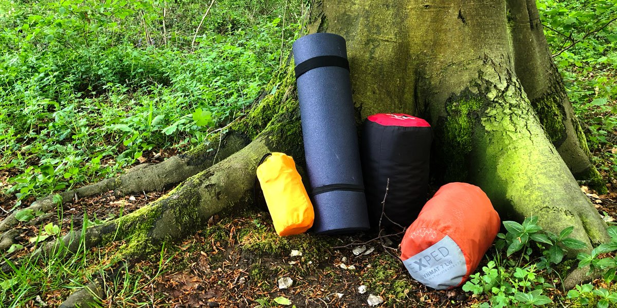 Choosing a Sleeping Mat / Pad for Wild Camping