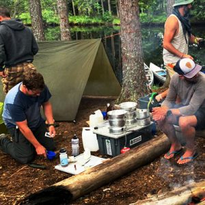 Wild Camping Cooking Equipment