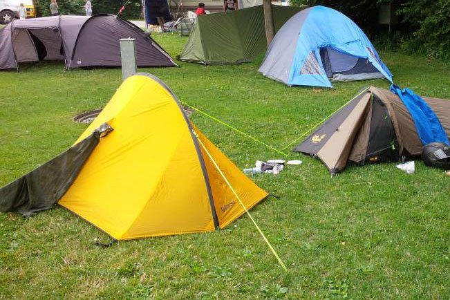 My First (Accidental) Wild Camping Experience - UK to ...